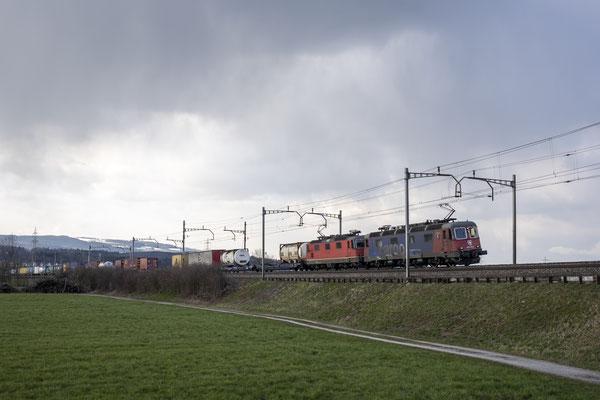 """Re 620 075 """"Gelterkinden"""", Rotkreuz (31.03.2021) ©pannerrail.com"""