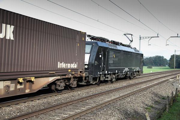 Dispolok BR 189 ES 64 F4-097, Rotkreuz (13.10.2012) ©pannerrail.com