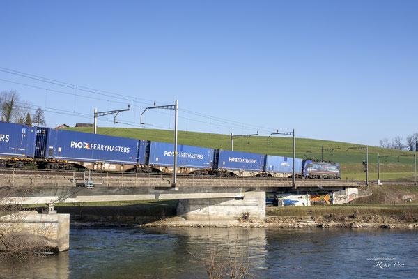 """SBB Cargo International, BR 193 517 """"Limmat"""", Rotkreuz (01.03.2021) ©pannerrail.com"""