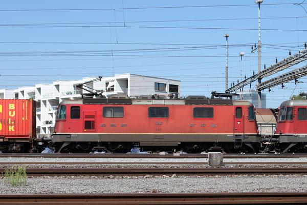 Re 4/4, 11287, Rotkreuz (05.09.2013) ©pannerrail.com