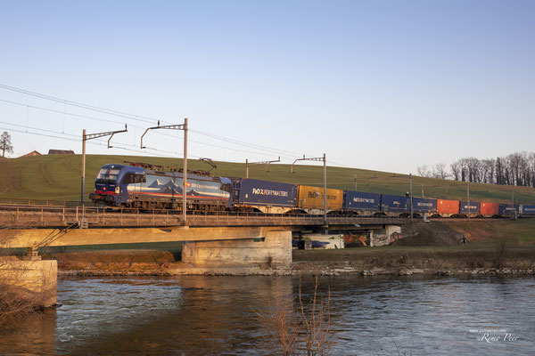 "SBB Cargo International, BR 193 519 ""Adige"", Rotkreuz (13.03.2021) ©pannerrail.com"
