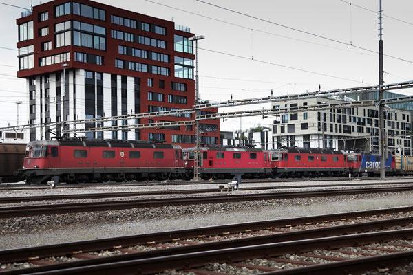 Re 4/4, 11335, Rotkreuz (18.07.2013) ©pannerrail.com
