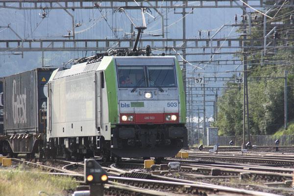 BLS Re 486 503, Arth-Goldau (25.08.2010) ©pannerrail.com