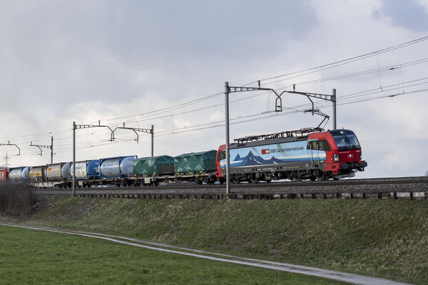 "SBB Cargo International, BR 193 466 ""Bellinzona"", Rotkreuz (31.03.2021) ©pannerrail.com"