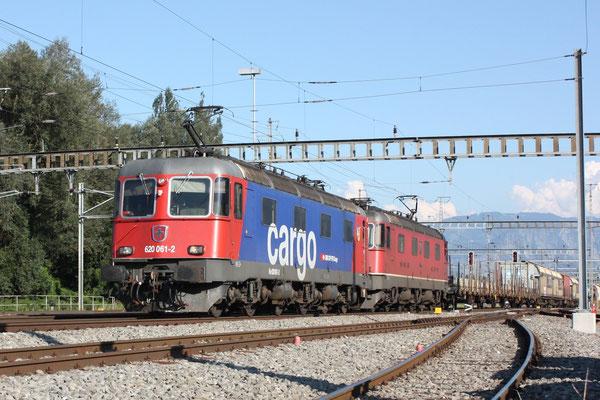 """Re 6/6 11644 """"Cornaux"""", Sargans (17.08.2011) ©pannerrail.com"""