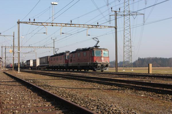 "Re 6/6 11603 ""Wädenswil"", Oberrüti (03.03.2012) ©pannerrail.com"
