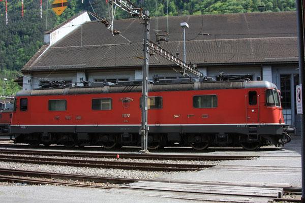 "Re 6/6 11689 ""Gerra-Gambarogno"", Erstfeld (07.05.2011) ©pannerrail.com"