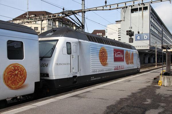 """BLS Re 465 004-0, """"Trubschachen"""", Luzern  (12.01.2013) ©pannerrail.com"""