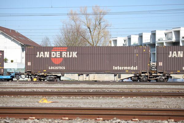 """Kombinierter Güterverkehr - Container """"Jan de Rijk"""""""