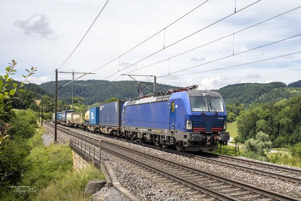 BR193 492 HUPAC, Hornussen (27.06.2021) ©pannerrail.com