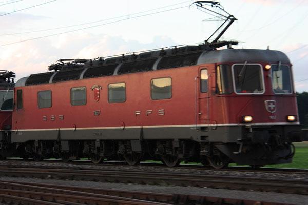 """Re 6/6 11657 """"Estavayer-le-lac"""", Oberrüti (03.08.2010) ©pannerrail.com"""