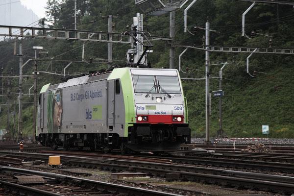 BLS Re 486 508, Arth-Goldau (15.06.2013) ©pannerrail.com