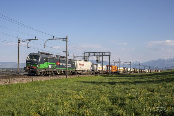 SBB Cargo International (ELL), BR 193 257, Mühlau (24.04.2021) ©pannerrail.com