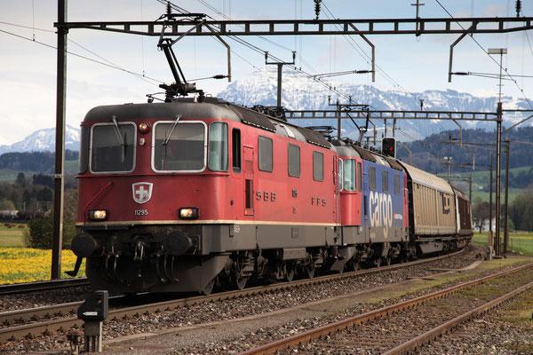 Re 4/4, 11295, Oberrüti  (23.04.2013) ©pannerrail.com