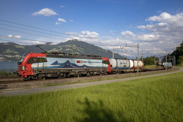 "SBB Cargo International, BR 193 463 ""Duisburg"", Immensee (19.07.2020) ©pannerrail.com"