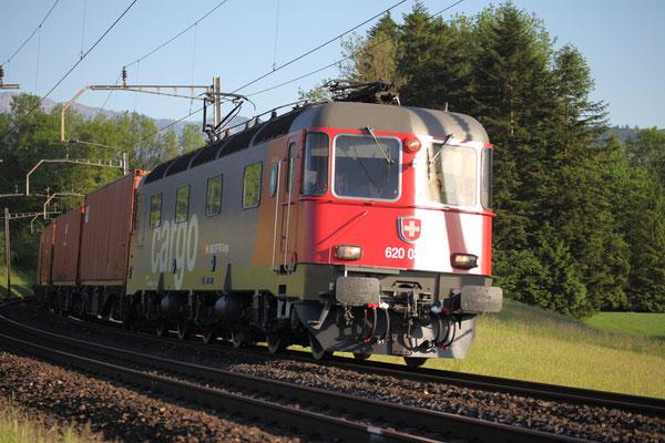 "Re 6/6 11632 ""Däniken"" im Cargo-Design, Rotkreuz (17.05.2017) ©pannerrail.com"