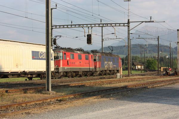 "Re 6/6 (Re 620) 11612 ""Regensdorf"", Oberrüti (25.04.2011) ©pannerrail.com"