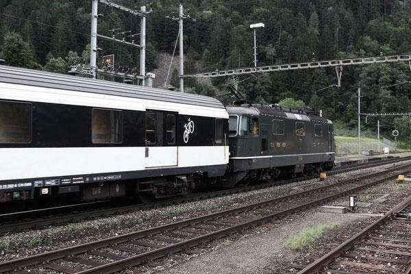 Re 4/4, 11161, Amsteg-Silenen (03.08.2013) ©pannerrail.com