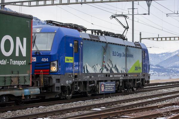 BR193 494 BLS Cargo, Immensee (17.02.2021) ©pannerrail.com