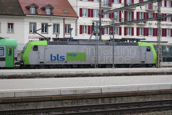 BLS Re 485 011-1, Olten (29.01.2014) ©pannerrail.com