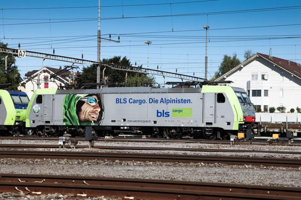 BLS Re 486 503, Rotkreuz (03.09.2013) ©pannerrail.com