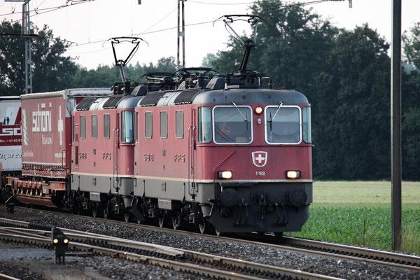 Re 4/4, 11188, Oberrüti (11.07.2013) ©pannerrail.com