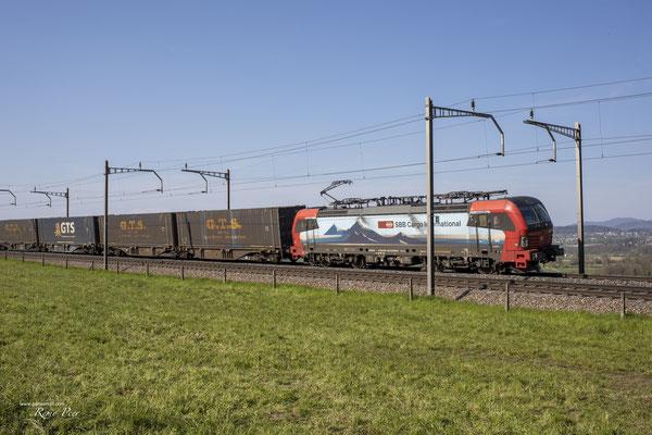 "SBB Cargo International, BR 193 469 ""Simplon"", Mühlau (25.04.2021) ©pannerrail.com"