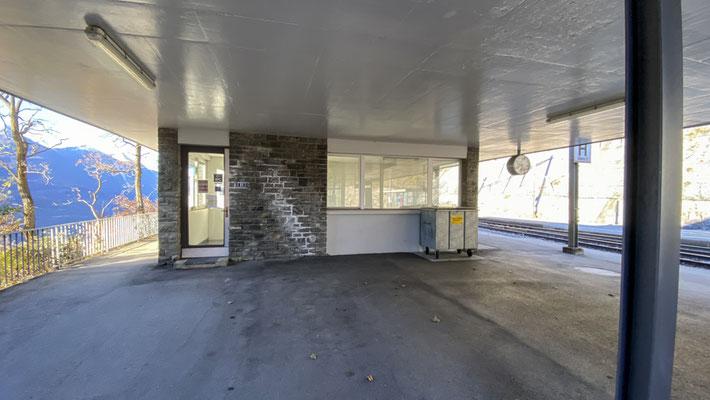 Bahnhofgebäude Hohtenn, Lötschberger Südrampe