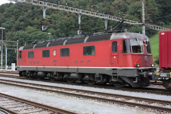 """Re 6/6  11618 """"Dübendorf"""", Ziegelbrücke (16.09.2010) ©pannerrail.com"""