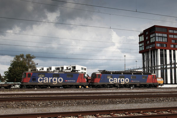 Re 4/4, 11165 (420 165-3 Cargo), Rotkreuz (10.09.2013) ©pannerrail.com