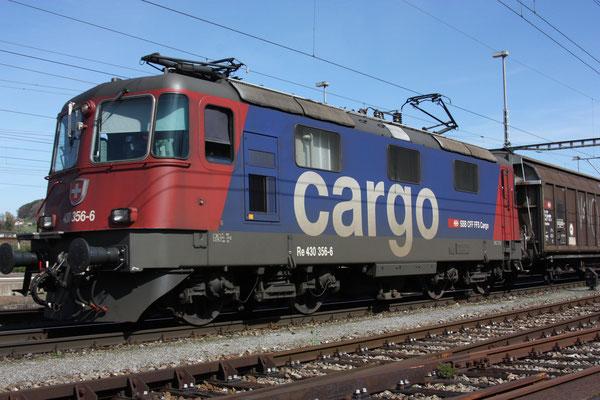 Re 4/4, 11356 (430 356-6 Cargo), Killwangen (06.04.2011) ©pannerrail.com