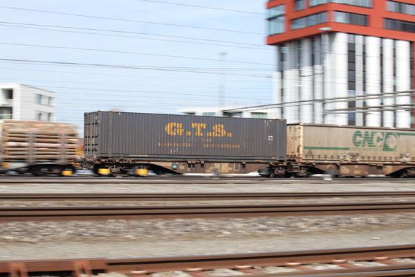Kombinierter Verkehr - Container GTS