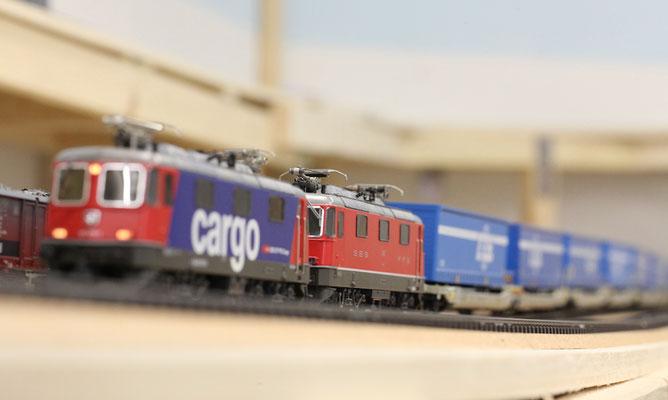 Doppeltraktion Re 4/4 / Re 420 Cargo (Hersteller Hag)
