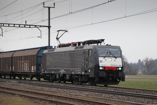 MRCE Dispolok BR 189 ES 64 F4-090, Oberrüti (22.02.2013) ©pannerrail.com