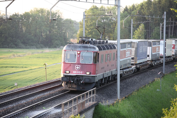 "Re 6/6  11613 ""Rapperswil"", Rotkreuz (17.05.2017) ©pannerrail.com"
