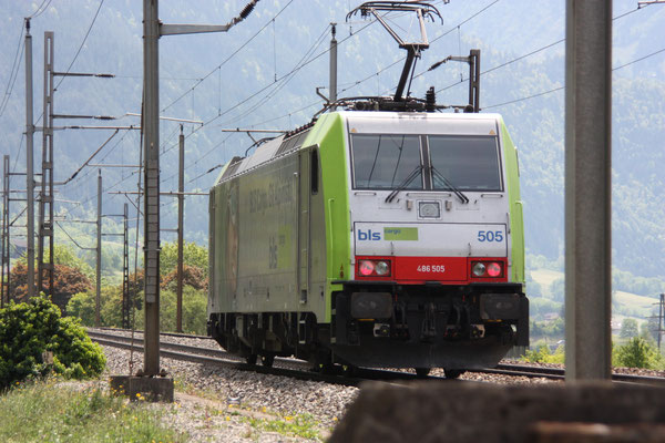 BLS Re 486 505, Erstfeld (07.05.2011) ©pannerrail.com