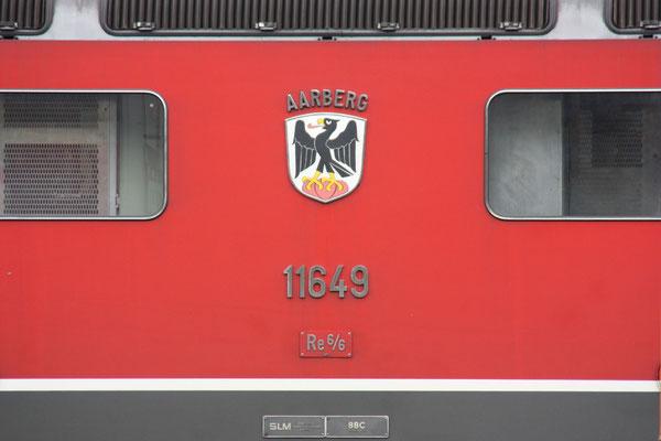 "Re 6/6 116493 ""Aarberg"", Wesen (10.04.2012) ©pannerrail.com"