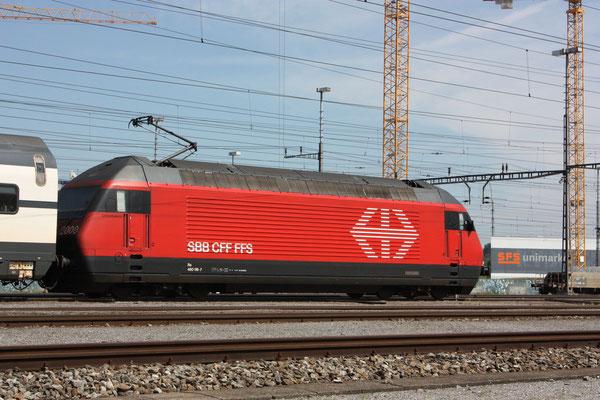 "Re 460 116-7 ""Ostschweiz"", Rotkreuz, 19.08.2011 (©pannerrail.com)"
