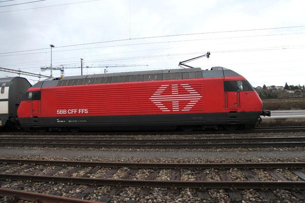 "Re 460 066-4 ""Finse"", Killwangen, 28.12.2012 (©pannerrail.com)"