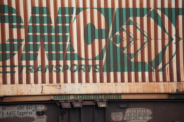 Kombinierter Güterverkehr - Container CNC