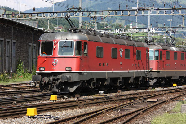 "Re 6/6 11621 ""Taverne-Torricella"", Arth-Goldau (25.07.2010)  ©pannerrail.com"