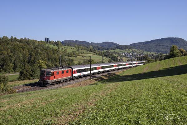 Re 4/4, 11141, Hornussen (10.09.2020) ©pannerrail.com