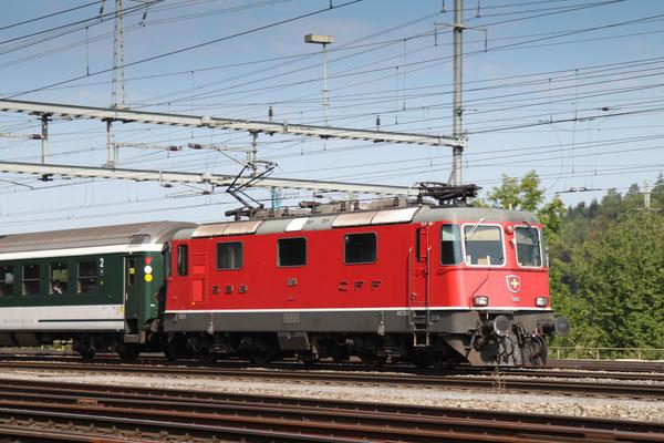 Re 4/4, 11196, Killwangen (06.09.2013) ©pannerrail.com