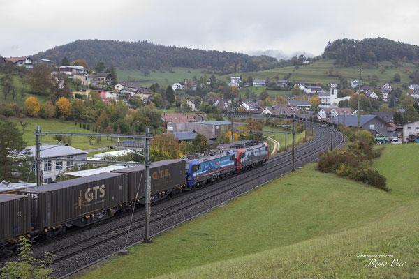 """SBB Cargo International, BR 193 534 """"Ruhr"""", Zeihen (26.10.2020) ©pannerrail.com"""
