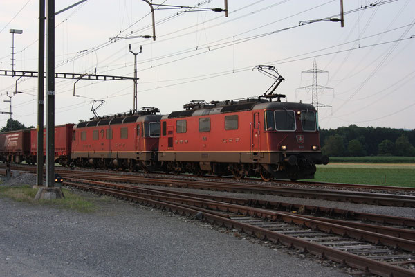 "Re 6/6 11670 ""Affoltern am Albis"", Oberrüti (21.07.2012) ©pannerrail.com"