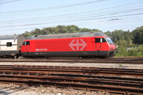 """Re 460 008-6 """"La Gruyére"""", Killwangen, 06.09.2013 (©pannerrail.com)"""