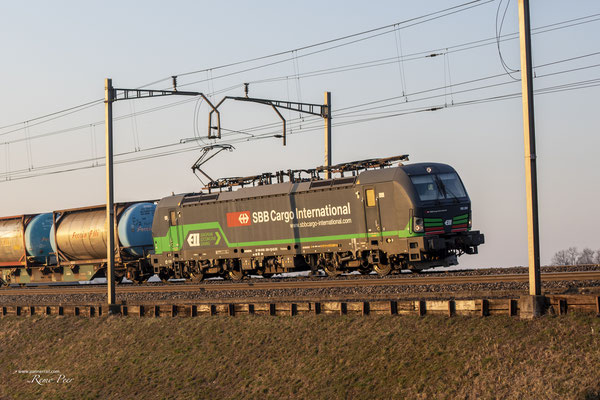 SBB Cargo International (ELL), BR 193 258, Oberrüti (13.03.2021) ©pannerrail.com