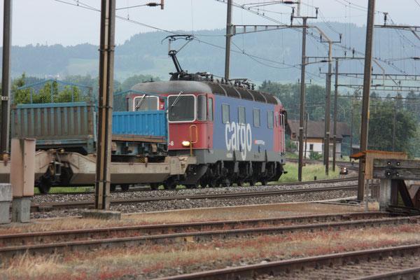 """Re 6/6 11658 """"Auvernier"""", Oberrüti (15.06.2010) ©pannerrail.com"""