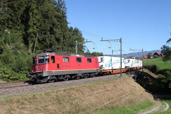 Re 4/4, 11263, Rotkreuz (03.09.2013) ©pannerrail.com