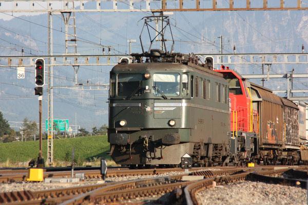 """Ae 6/6 11404 """"Luzern"""" , Sargans, 16.09.2011 (©pannerrail.com)"""